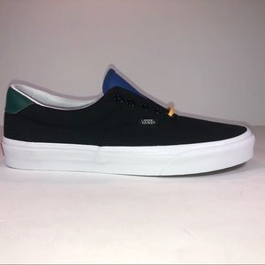Vans Era 59 Yacht Club Black & White Lace Up Shoes